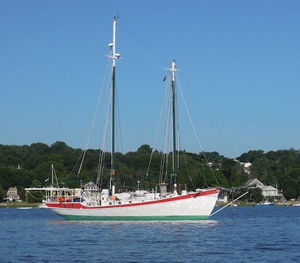 Great provincetown schooner race regatta history for 68 garden design gaff rigged schooner